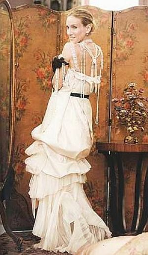 vintage wedding dress 1920s - sarah jessica parker vintage wedding dress.jpg
