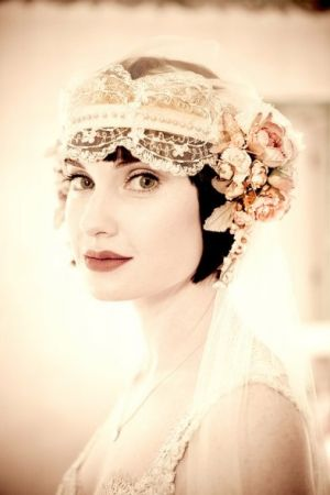 wedding dress 20s style - 1920s style  wedding via mylusciouslife.jpg