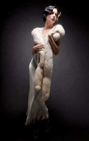 wedding dress 20s style - flapper fashion via mylusciouslife.jpg