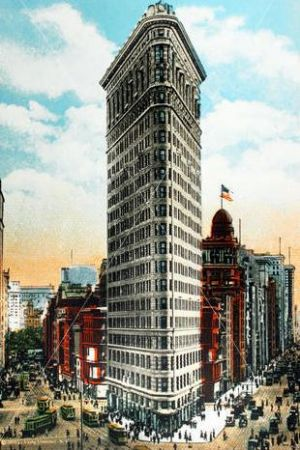Architecture Beaux Arts style -  the fuller Building - Flatiron Building - New York City.jpg