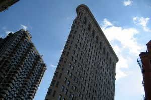 Architecture Beaux Arts style - The Fuller Building - Flatiron Building - New York City by Burnham.jpg