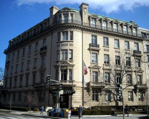 Examples of Beaux Arts style - Andrew Mellon Building - Dupont Circle.JPG