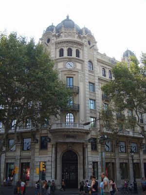 Examples of Beaux Arts style - Barcelona Spain beaux arts style.jpg
