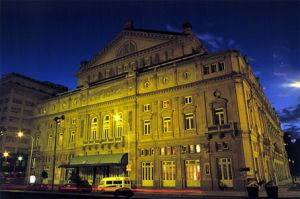 Images of Beaux Arts style - Teatro Colon The Opera House Colon Theater - Buenos Aires.jpg