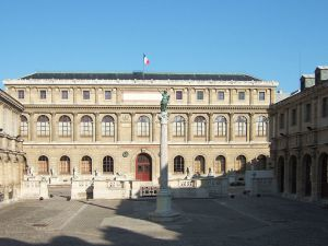 Photos of Beaux Arts style - Palais des Etudes of the Ecole Nationale Superieur des Beaux-Arts Paris.jpg