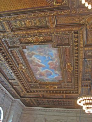 Photos of Beaux Arts style - The Rose Reading room - New York Public Library.jpg