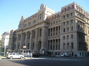 Pictures of Beaux Arts style - Palacio de justicia palace of justice buenos aires.JPG