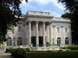 The Beaux Arts Vanderbilt Marble House in Newport Rhode Island.jpg