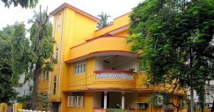 famous art deco architecture - bright yellow - India - art deco home.jpg