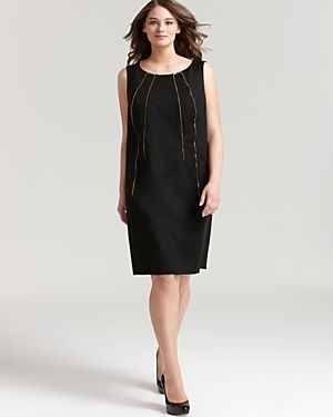 Calvin Klein Plus Shift Dress with Zips-Plus Sizes.jpg