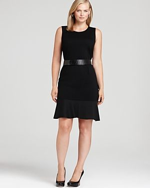 DKNYC Plus Sleeveless Dress with Belt-Plus Sizes.jpg