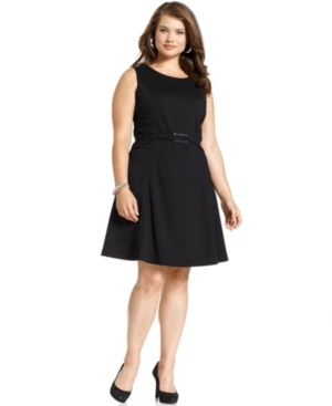 Style&co Plus Size Dress Sleeveless A-Line Plus Sizes PLUS SIZE APPAREL - Plus Size Dresses.jpg