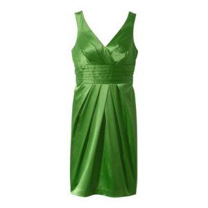Plus Size Green Cocktail Dress