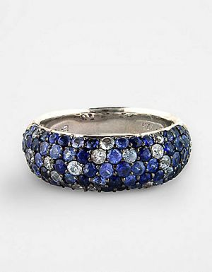 EFFY COLLECTION Sterling Silver & Multi-Blue Sapphire Ring.jpg