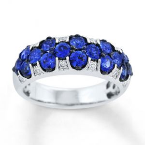Jared Natural Sapphire Ring with Diamonds 14K White Gold- Sapphire.jpg