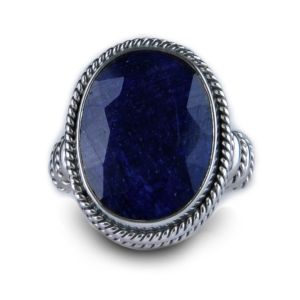 SusanB.com Balinesia Artisan Crafted Sterling Silver 19 Carat Sapphire Ring.jpg