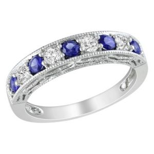 Target Silver Created Sapphire and Created White Sapphire Ring.jpg