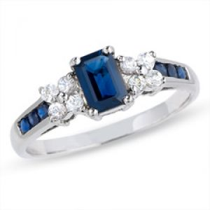 ZALES Blue and White Sapphire Ring in 14K White Gold.jpg