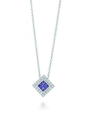 Tiffany Grace pendant in platinum with a tanzanite and diamonds - The Great Gatsby collection.PNG