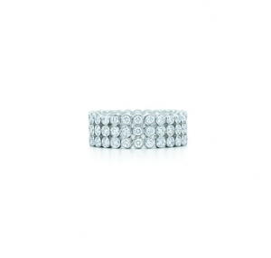 Tiffany Jazz three-row diamond ring in platinum - The Great Gatsby collection.PNG