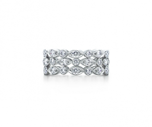 Tiffany Swing three-row ring of diamonds in platinum - The Great Gatsby collection.PNG