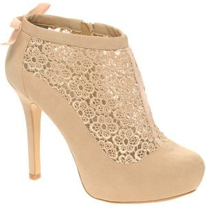 Pictures of lace - luscious blog - beige shoe boot.jpg