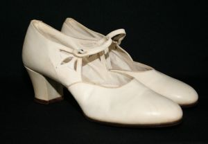 vintage 1920s wedding - Shoes from the 1920s via mylusciouslife.com.jpg