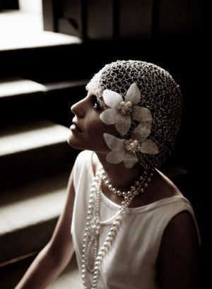 vintage 1920s wedding - bride wedding - flapper fashion.jpg