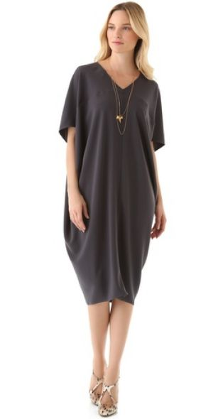 HATCH The Long Slouch Dress - stylish maternity clothes.jpg