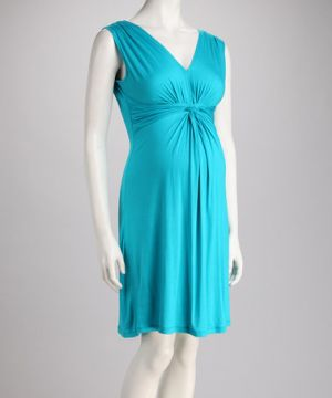 Leone Maternity Jade Knotted Maternity Dress.jpg