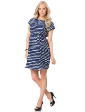 Liquid By Nell Couture Short Sleeve Belted Maternity Dress.jpg