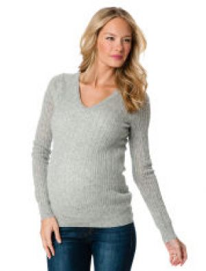 apeainthepod Long Sleeve Pointelle Maternity Sweater.jpg
