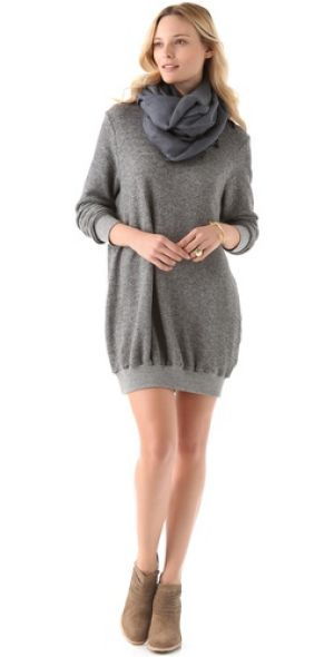 maternity clothes for stylish women - HATCH The Sweatshirt Dress.jpg