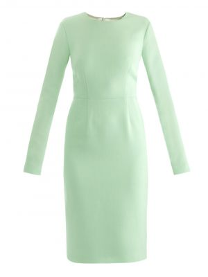emilia wickstead EMI-E-ELLIOTCREPE dresses GREEN CREAM.jpg
