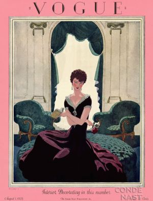 Vintage Vogue magazine covers - mylusciouslife.com - August 1 1925 - vintage cover of Vogue.jpg