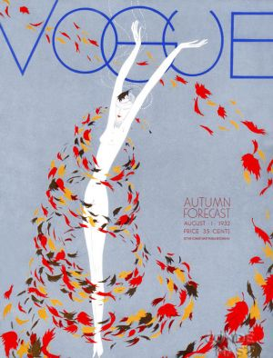 Vintage Vogue magazine covers - mylusciouslife.com - August 1 1932 - vintage cover of Vogue.jpg