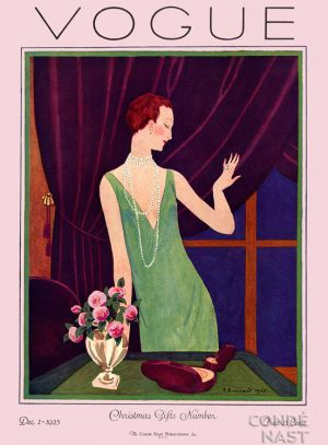 Vintage Vogue magazine covers - mylusciouslife.com - December 1 1925 - vintage cover of Vogue.jpg