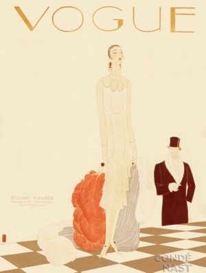 Vintage Vogue magazine covers - mylusciouslife.com - December 15 1925 - vintage cover of Vogue.jpg