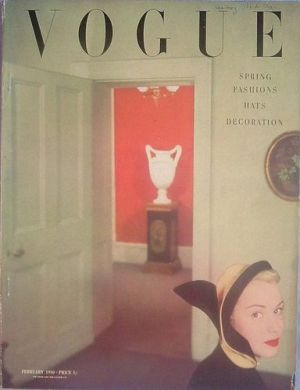 Vintage Vogue magazine covers - mylusciouslife.com - Vintage Vogue UK February 1950.jpg