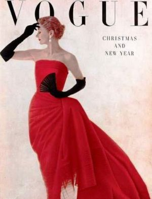 Vintage Vogue magazine covers - mylusciouslife.com - Vintage Vogue UK January 1950.jpg