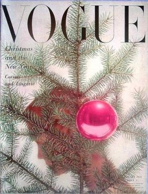 Vintage Vogue magazine covers - mylusciouslife.com - Vintage Vogue UK January 1951.jpg