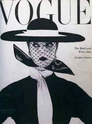 Vintage Vogue magazine covers - mylusciouslife.com - Vintage Vogue UK June 1950.jpg