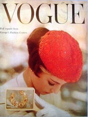 Vintage Vogue magazine covers - mylusciouslife.com - Vintage Vogue UK March 1954.jpg