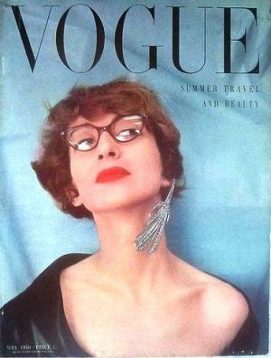 Vintage Vogue magazine covers - mylusciouslife.com - Vintage Vogue UK May 1950.jpg