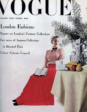 Vintage Vogue magazine covers - mylusciouslife.com - Vintage Vogue UK November 1944.jpg