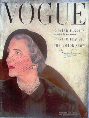 Vintage Vogue magazine covers - mylusciouslife.com - Vintage Vogue UK November 1950.jpg