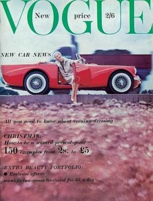 Vintage Vogue magazine covers - mylusciouslife.com - Vintage Vogue UK November 1959.jpg