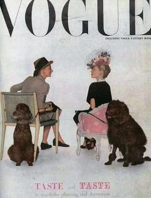 Vintage Vogue magazine covers - mylusciouslife.com - Vintage Vogue UK September 1945.jpg