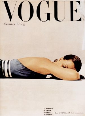 Vintage Vogue magazine covers - mylusciouslife.com - Vintage Vogue covers - Vogue 1947.jpg