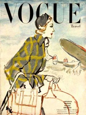 Vintage Vogue magazine covers - mylusciouslife.com - Vintage Vogue covers5.jpg